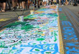 معرض فني في الهواء الطلق - جسر أُبرباوم بروكه