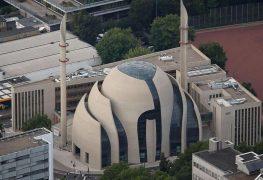 المسجد المركزي في مدينة كولونيا الألمانية
