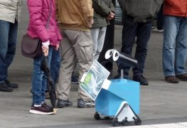 Anti-Rauch-Roboter
