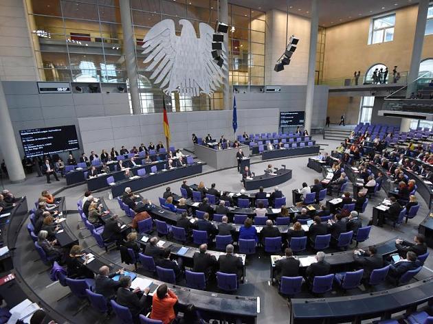 Der Bundestag Deutschland