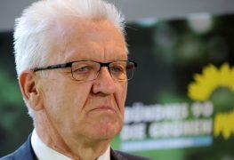 فينفريد كريتشمان رئيس وزراء ولاية بادن فورتمبيرغ