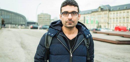 مصطفى، 29 عاماً من سوريا. يتواجد في ألمانيا منذ ديسمبر 2014 ويعيش في هامبورغ