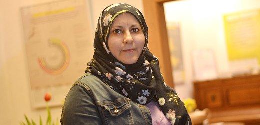 فاتن، 40 سنة من سوريا. جاءت إلى ألمانيا في ديسمبر 2014 وتعيش في إرفورت
