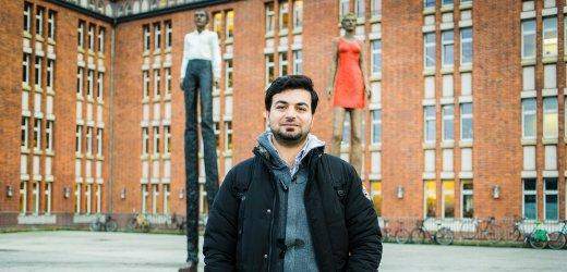 كاوا، 31 سنة من سوريا. يتواجد في ألمانيا منذ ديسمبر 2014 ويعيش في هامبورغ