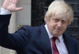 بوريس جونسون وزيرا للخارجية البريطانية