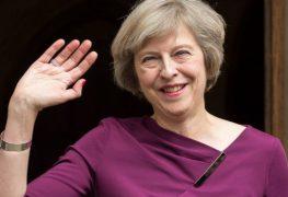 رئيسة الوزراء البريطانية الجديدة تيريزا ماي