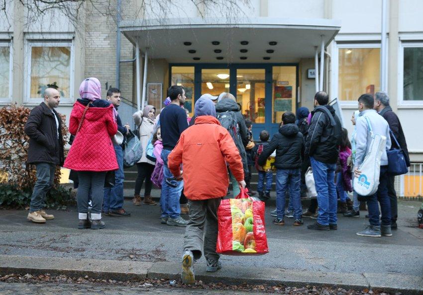 تم افتتاح نزل اللاجئين في يناير