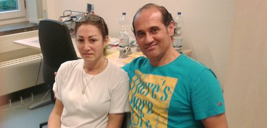طونيوس ومها هابر مسيحيون من سوريا