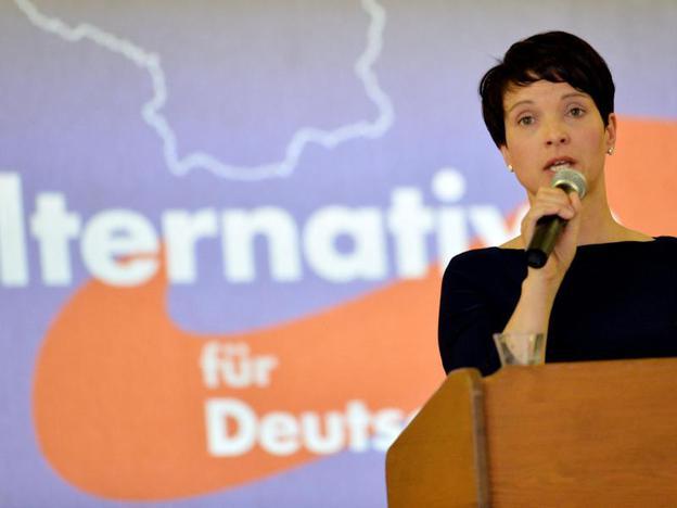 فراوكه بيتري زعيمة حزب البديل من أجل ألمانيا
