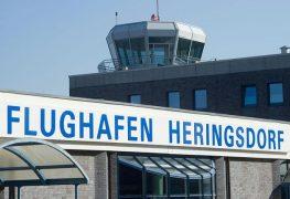 مطار هيرينغسدورف في جزيرة أوسيدوم