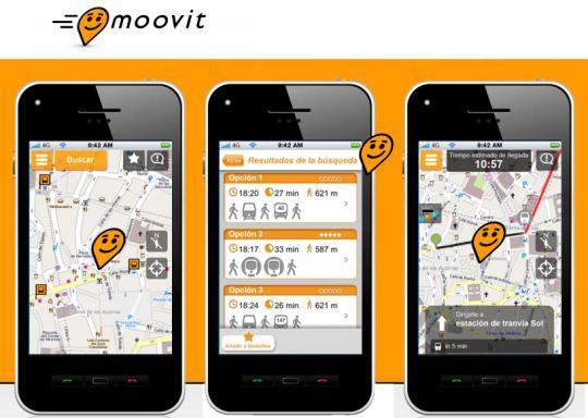Mit «Moovit» in über 1000 Städten von A nach B