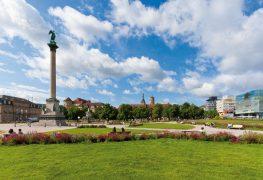 حديقة القصر في شتوتغارت