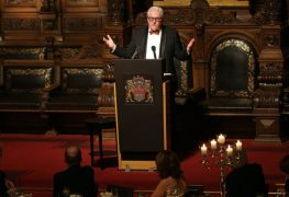 وزير الخارجية الألماني فرانك-فالتر شتاينماير سيلقي محاضرة الافتتاح
