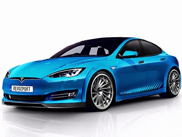 Tesla Model S P100D Tuning von RevoZport