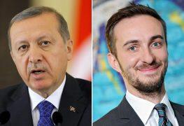 الرئيس التركي سعى لمقاضاة الإعلامي الألماني يان بومرمان على خلفية قصيدة هجائية
