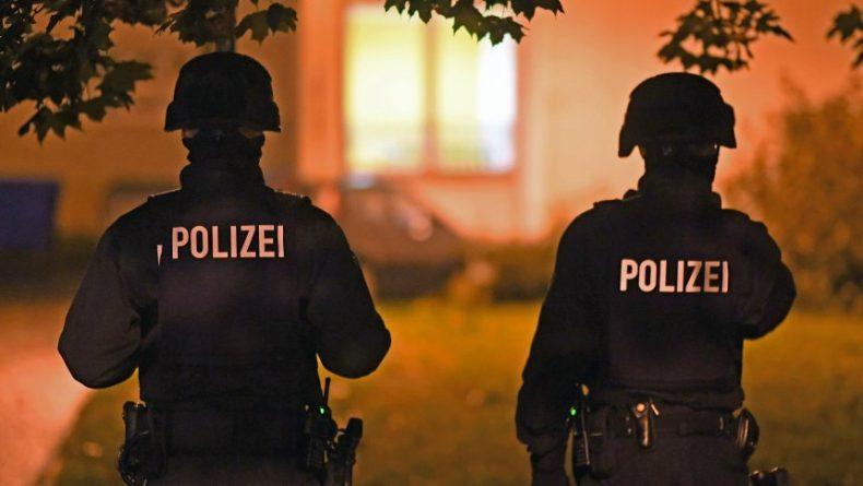 Polizeieinsatz in Chemnitz