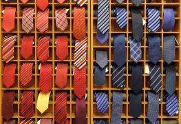 Fünf Krawatten sind das absolute Minimum