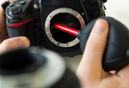 So säubert man Bildsensoren von Digitalkameras
