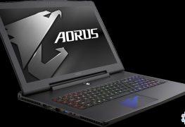 VR-Gaming-Laptop für Unterwegs-Spieler von Aorus