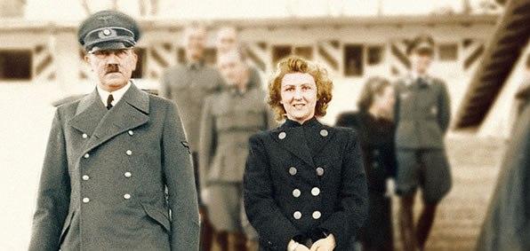 هتلر وزوجته إيفا براون