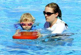 Nicht untertauchen Schwimmanfänger brauchen Sicherheit