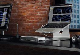 Thunderbolt-Dock bringt mehr Anschlüsse für Notebooks