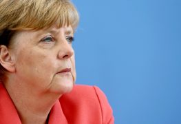 German Chancellor Merkel annual press conference